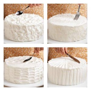 como decorar tortas con crema chantilly1